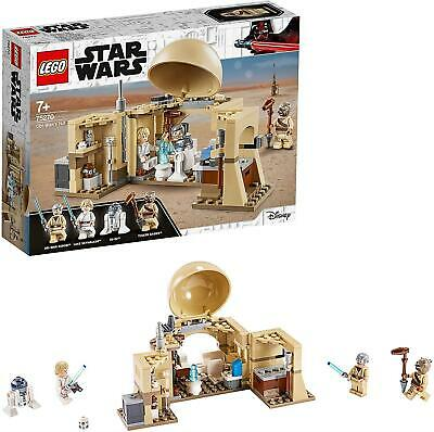 LEGO 75270 Star Wars Obi-Wan's Hut Building Set With Princess Leia Hologram • 27.95£