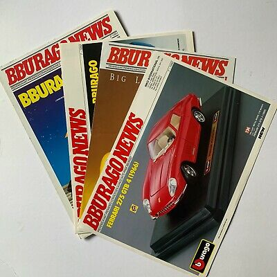 Bburago News Model Car Catalogues 1991-1993 • 7.99£