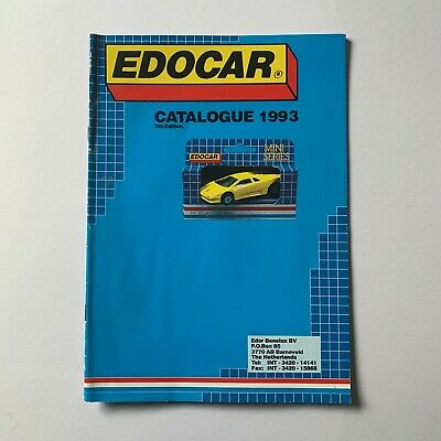 Edocar Die-cast Model Catalogue 1993 Edition • 13.99£