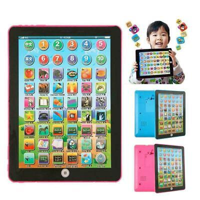Baby Tablet Educational Toys Kids For 1-6 Years Toddler Learning English Gift • 6.40£