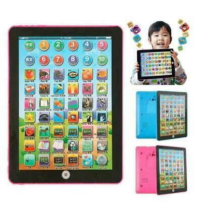 Baby Tablet Educational Toys Kids For 1-6 Years Toddler Learning English Gift • 6.60£