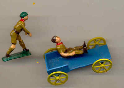 Rare Pre War Charbens Boy Scout Soap Box Racer  . UK ONLY • 67.99£