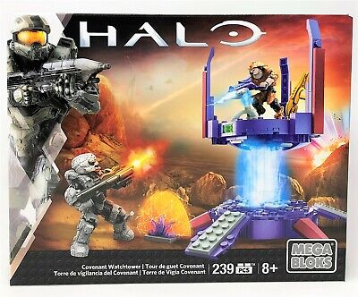 Mega Bloks Halo Covenant Watchtower Watch Tower 239pc Buildable Set Toy • 24.99£