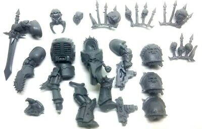 Chaos Marines NEW2019 Terminator (E/ Champion) With Options Chainfist • 11.99£