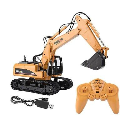 HUINA 1550 2.4G 15 Channels Remote Control Excavator Truck Engineering RC Toy • 44.99£