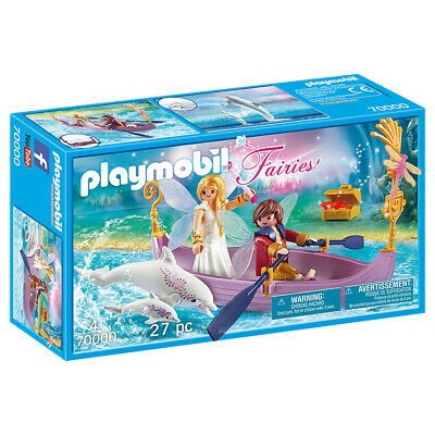 Playmobil Fairies Romantic Fairy Boat - 70000 • 14.94£