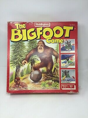 Waddinngtons The Bigfoot Game 100% Complete Retro Family Fun • 14.99£