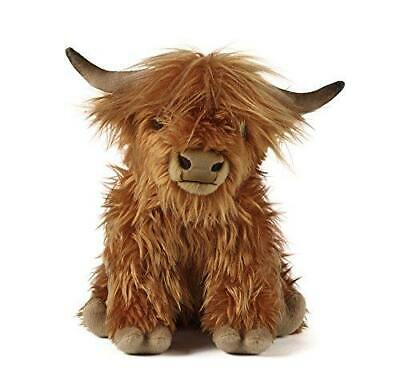 Living Nature Highland Cow Soft Toy With Sound 30cm   • 17.95£