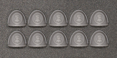 40K - Imperial Fists Space Marine Shoulder Pads X 10 - Custom Made • 3.99£