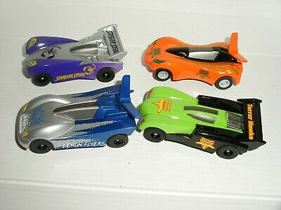 12V MICRO Scalextric X4 Cars  - Bug Racers (Lot 7) - Vgc • 13.99£