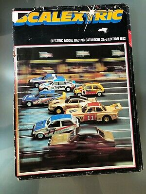 Scalextric Catalogue 1982 • 5£