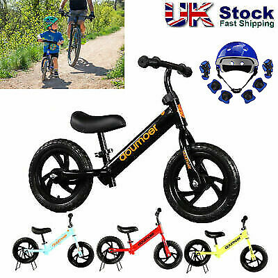 12  Kids Children Balance Bike Boys Girls Gift Walking Running Training Bicycle • 30.96£