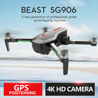 GPS 4K Drone With Camera 5G Wifi FPV Optical Flow Positioning RC Quadcopter Q0Z1 • 116.90£