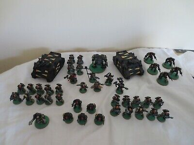 Warhammer 40K Large Space Marines Army Painted Tiger Claw Classic 90s With OOP • 129.99£