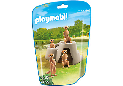 Playmobil 6655 City Life Meerkats  (Farm & Animals) For 3-4 Years, 5-7 Years • 4.99£