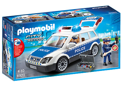 Playmobil 6920 City Action Police Squad Car With Lights And Sound  For Age 3+ • 29.99£