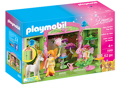 Playmobil 5661 Fairy Garden Play Box (Playsets, Make-Believe) For Age 3+ • 19.99£