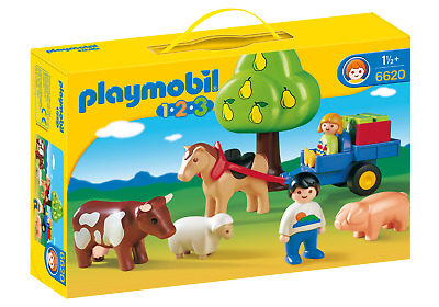 Playmobil 6620 Family Fun Summer Meadow (Playsets, Farm & Animals) For Age 3+ • 9.99£