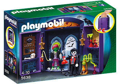 Playmobil 5638 Haunted House Play Box  (Playsets) For 3-4 Years, 5-7 Years • 19.99£