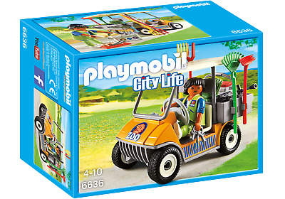 Playmobil 6636 City Life Zookeeper's Cart  (Playsets, Farm & Animals) Age 3+ • 9.99£