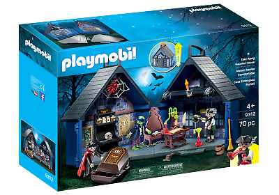 Playmobil 9312 Take Along Haunted House (Playsets) For 3-4 Years, 5-7 Years • 27.99£