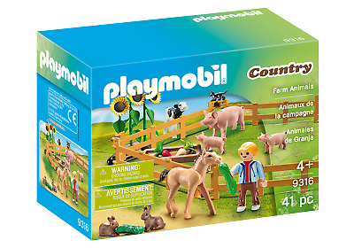 Playmobil 9316 Farm Animals Enclosure (Farm & Animals, Playsets) Age 3+ • 9.99£