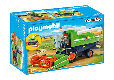 Playmobil 9532 Country Combine Harvester (Farms & Animals) Age 3+ • 23.99£