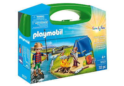 Playmobil 9323 Camping Carry Case (Playsets) For 3-4 Years, 5-7 Years • 9.99£