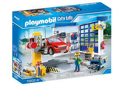 Playmobil 70202 City Life Vehicle World Garage And Workshop With Car • 54.99£