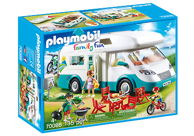 Playmobil 70088 Family Fun Camper Van With Furniture • 54.99£