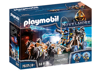 Playmobil 70225 Novelmore Knights Wolf Team With Firing Water Cannon • 19.99£
