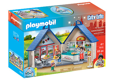 Playmobil 70111 City Life Take Along Diner (Playsets) For 3-4 Years, 5-7 Years • 29.99£