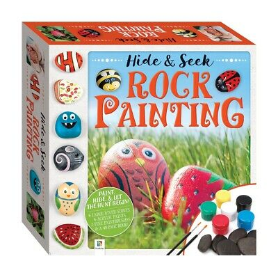 Hide & Seek Rock Painting Game. Fun For All The Family. Great Indoors Or Out. • 9.99£