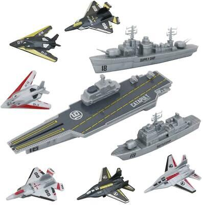 DeAO Model Military Naval Ship Aircraft Carrier Toy With Assorted Accessories • 14.24£