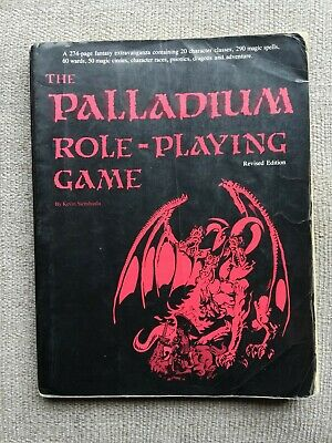 The Palladium Role-Playing Game 1988 Revised 5th Edition • 10.99£