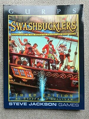 GURPS Swashbucklers 3rd Edition • 25£