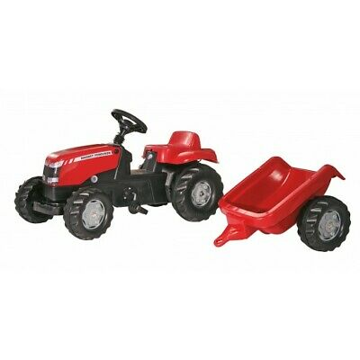 MF Massey Ferguson Pedal Tractor With Trailer X993070012305 New • 90£