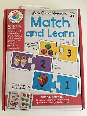 Hinkler Match And Learn Lets Count Numbers Jigsaw • 4.50£