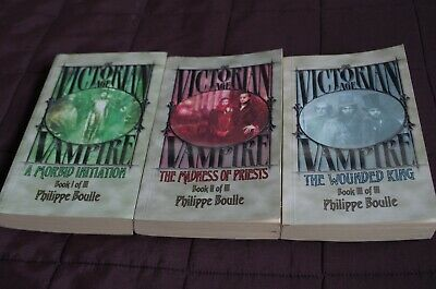Victorian Age Vampire Trilogy Of Novels • 45£