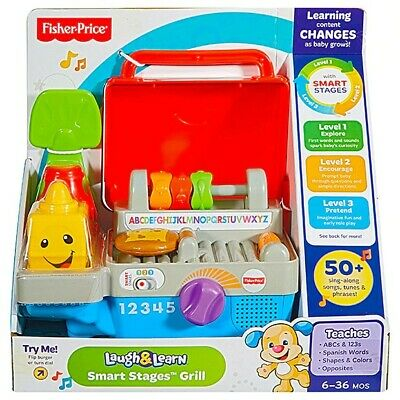 Fisher Price Laugh & Learn Smart Stages Grill. • 13.99£