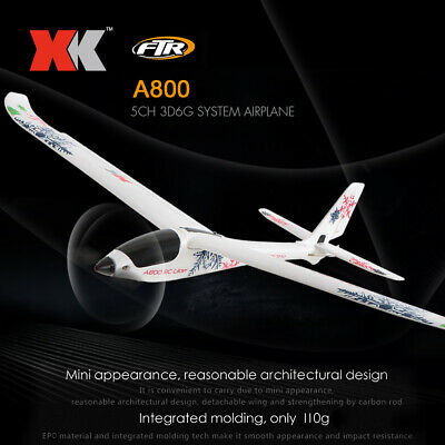 XK A800 RC Airplane 780mm Wingspan 5CH 3D 6G Mode EPO Aircraft Fixed Wing RTF • 53.90£