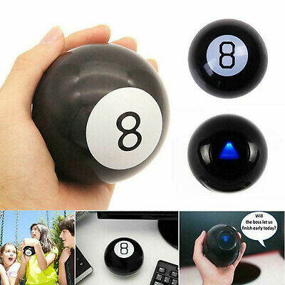 Retro Magic Mystic 8 Ball Decision Making Fortune Telling Cool Toy Gift Eight • 6.96£