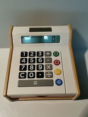 Ikea Toy Cash Register Till Early Learning Toys Calculated Play Money Shops Role • 21£