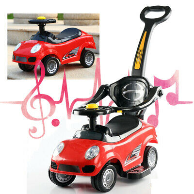 Ride On Car 3 In 1 Kids Toy Boys Girls Push Along Toddler Infants Walker Trike • 34.99£