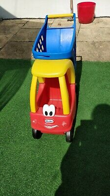 Little Tikes Cosy Coupe Shopping Trolley • 15£
