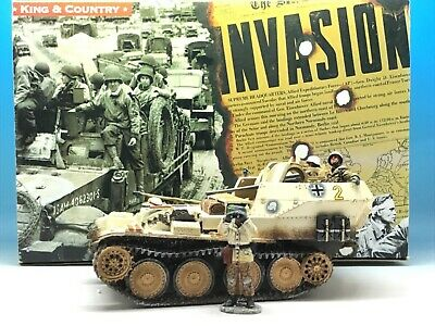 King & Country Wwii German Forces Gepard Flakpanzer 38(t) Wss80 1/30 • 239.99£