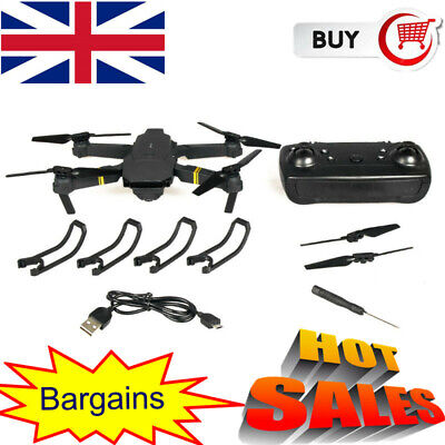 Drone X Pro WIFI FPV 4K HD Camera Foldable Selfie RC Quadcopter With 1/3 Battery • 39.29£