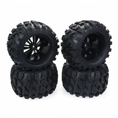 1/10 RC Car Monster Truck Wheels Tires For HPI HSP Savage XS TM Flux ZD Racing • 26.85£