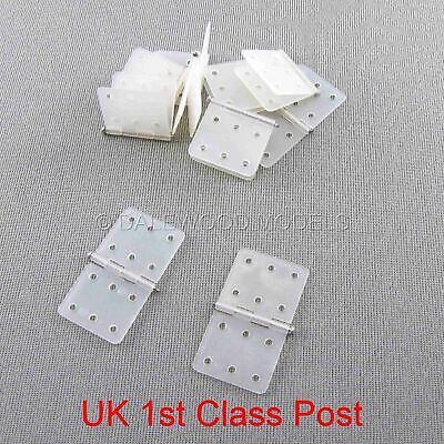 Nylon Metal Pinned Hinges 20mm X 36mm 10 Pieces • 3.95£