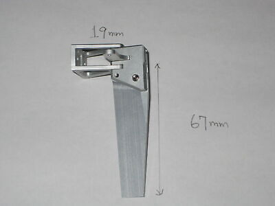 RC BOAT Aluminum Rudder 19 X 67mm  • 10.99£
